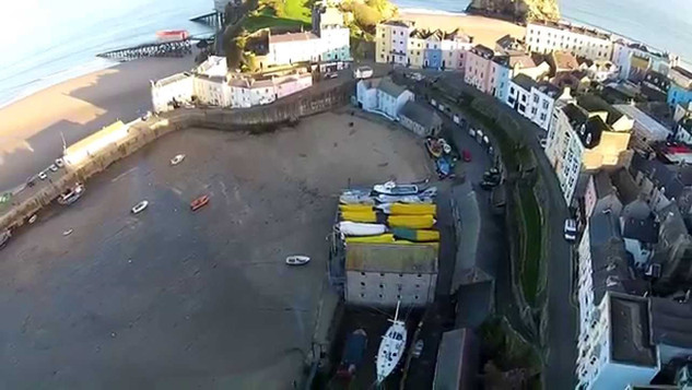 Tenby Through The Eyes Of A Seagull