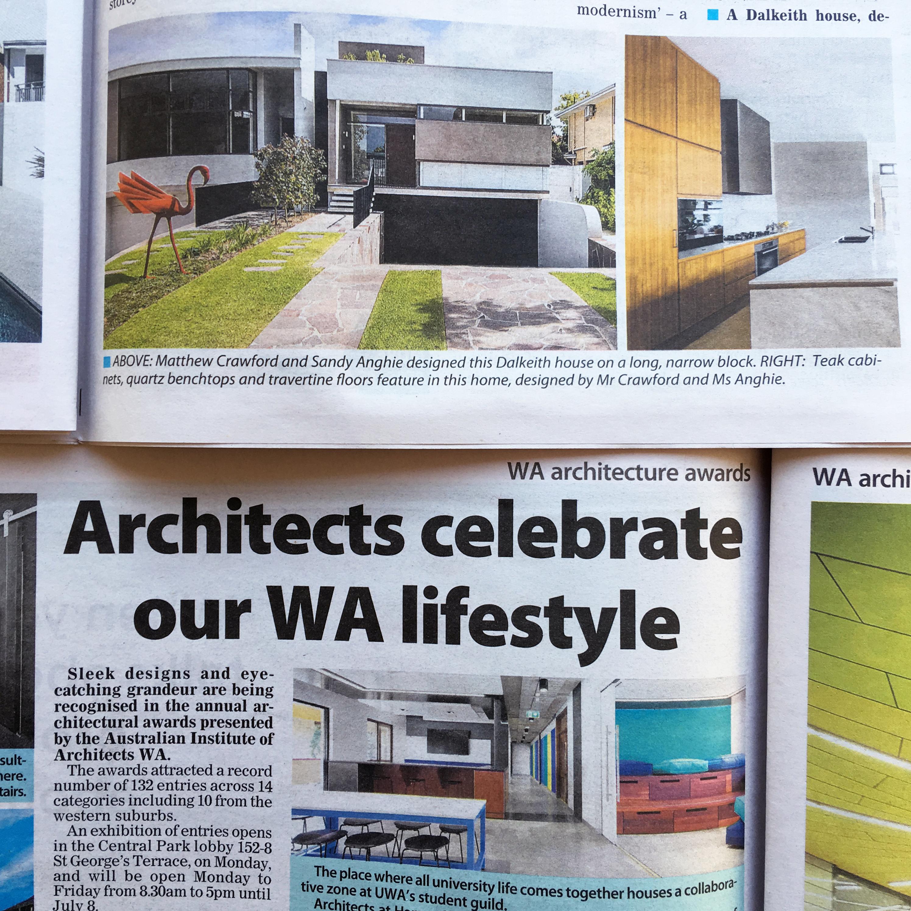 WA Architecture Awards 2016   sandyanghie