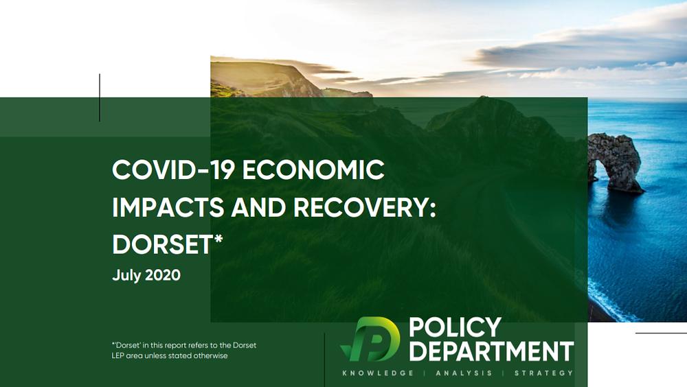 Coronavirus economic impacts and recovery Dorset