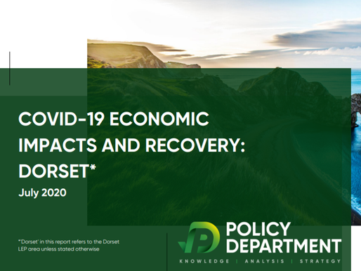 PolicyDepartment completes COVID-19 economic impacts and recovery report for Dorset LEP