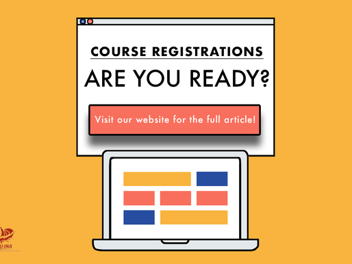 Course Registrations: Are You Ready?