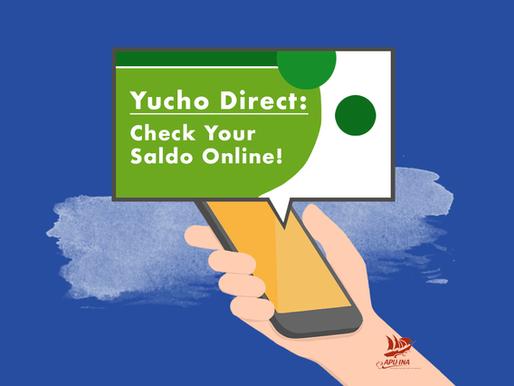 Yucho Direct: Check Your Saldo Online!