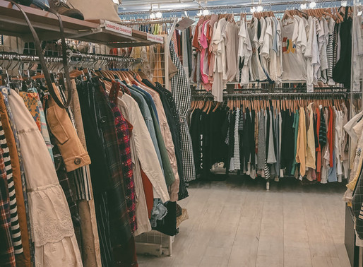 Treasure Hunting in Thrift Stores