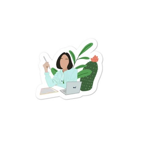 WITS Cactus Sticker