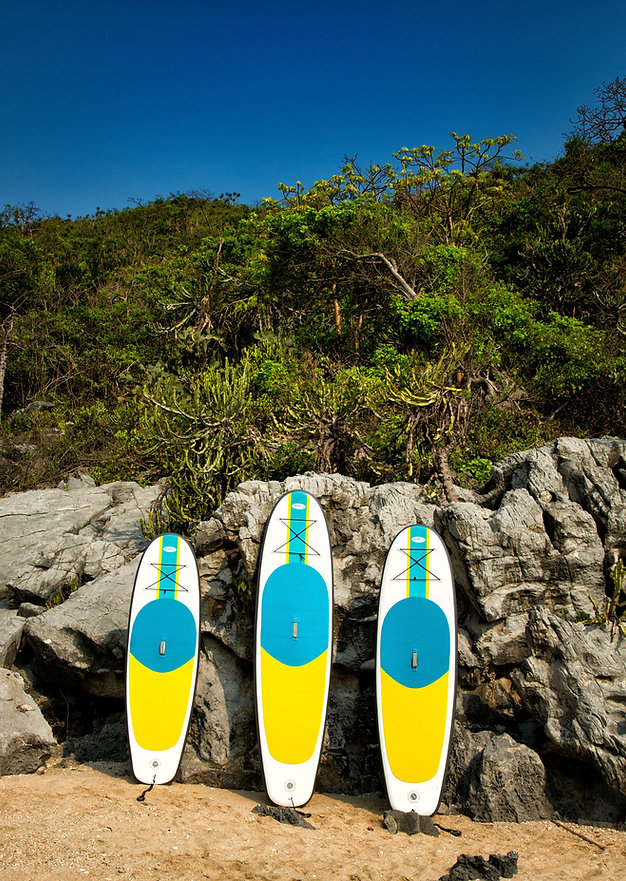 Blue Water Toys Inflatable Stand Up Paddle Boards, Decks, Lounges.  Portable, Durable, Lightweight Water Toys