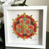 Tropical Mandala $145