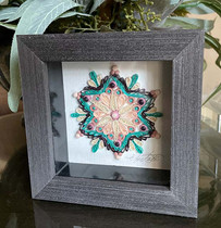 Blooming in the Snow Mandala SOLD!