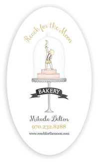Reach to the Moon Bakery Business Card