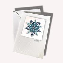 Blue Star Mandala $4.50