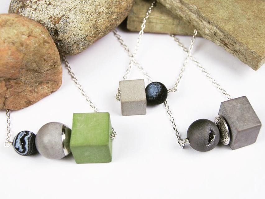 Concrete Necklaces