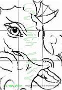Purple_Dragon_Pre_Drawing_©vickyjocher2