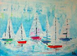 Sailing Boats for Art@VHS vickyjocher202