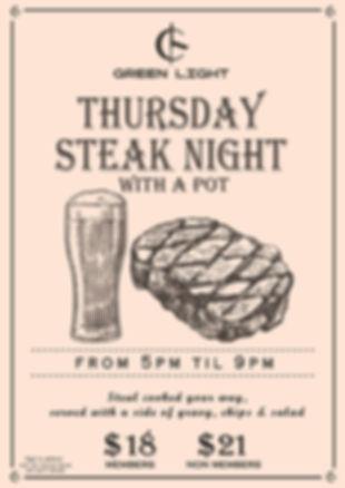 POSTER - Steak Night Thurs New Nov 2018.