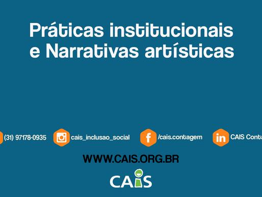 [Live] Práticas institucionais e Narrativas artísticas.