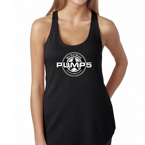Womens Pump5 Logo Tank Top
