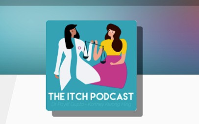 Dina Hawthorne on the Itch podcast