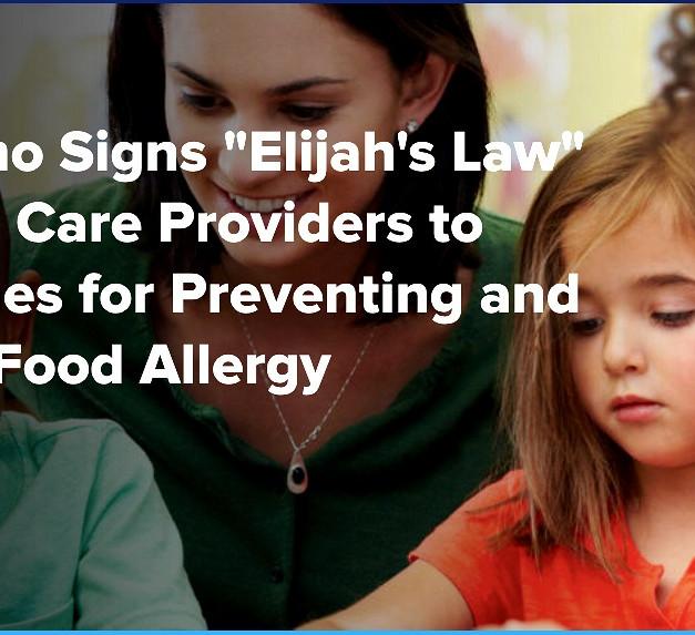 """Gov Cuomo Signs """"Elijah's Law"""""""