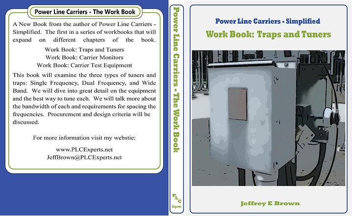 Work Book Cover - Carrier Test Equipment