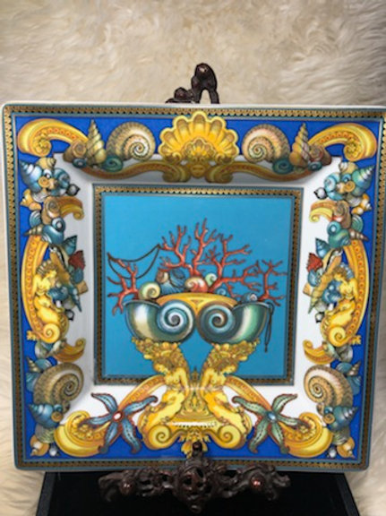 Versace La Mer Collection Plate