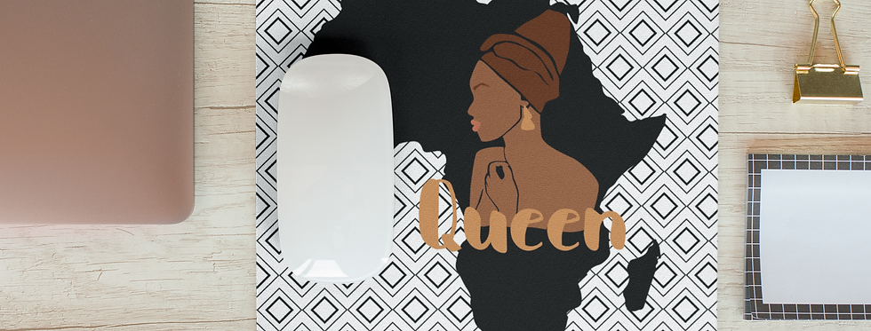 Afrocentric Mouse Pad
