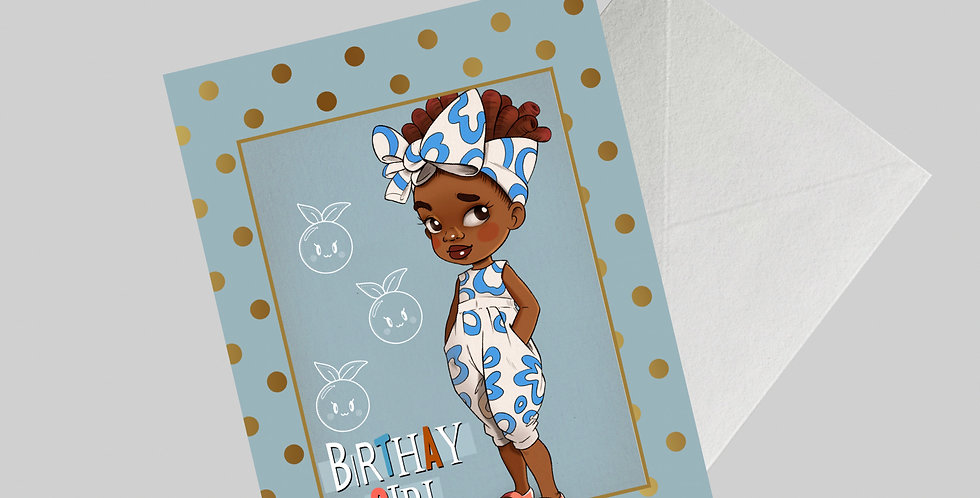Afrocentric Greeting Card