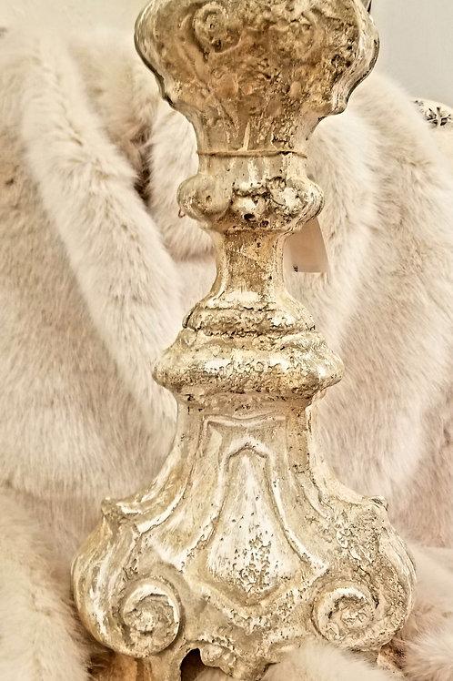 Stone Candle Holder Set