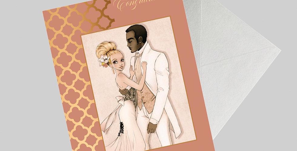Afrocentric Wedding Card