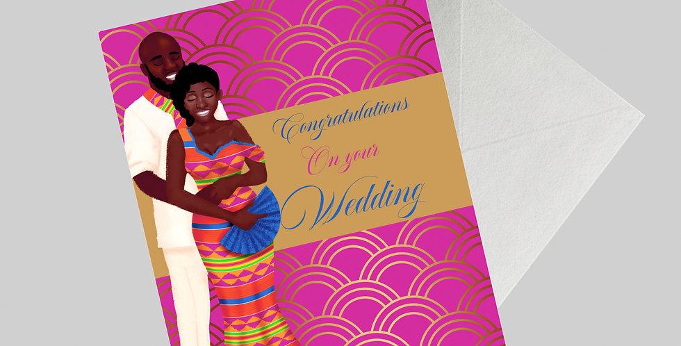 Ethnic Traditional Wedding Card