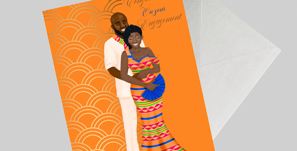 Multicultural Ethnic Engagement Card