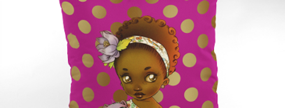 Kids Afrocentric Cushion