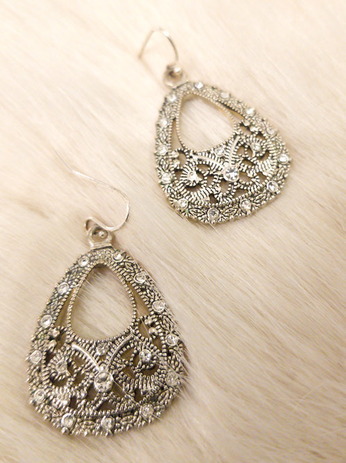 Sparkling Fashion Earrings