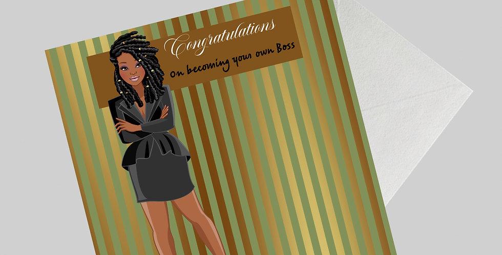 Boss Lady Greeting Card