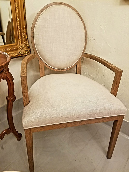 New Restoration Hardware Oval Chair