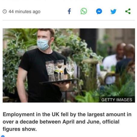 英國最新失業情況