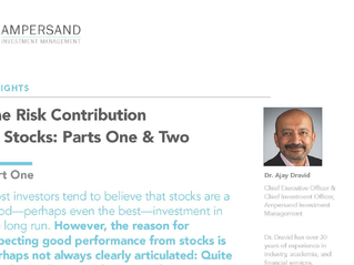 The Risk Contribution of Stocks: Parts One & Two