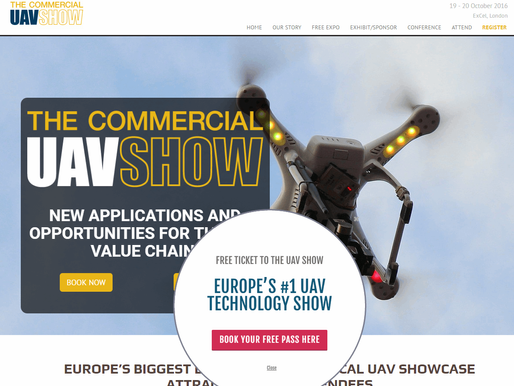 The Commercial UAV Show 2016 London hosts Andrea Forni