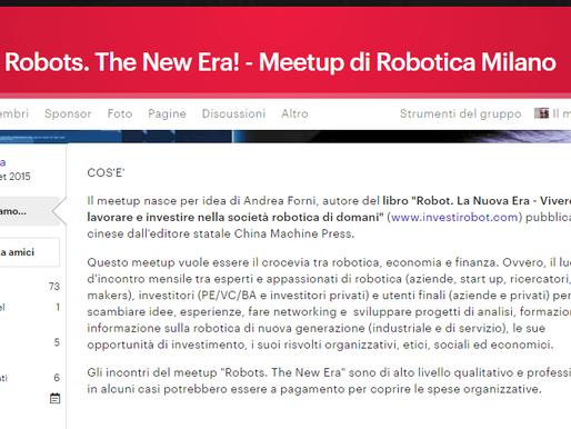 RobotsTheNewEra Meetup ospita Alumotion e la Robotica Collaborativa - Video Periscope!