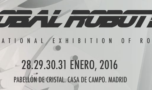Andrea Forni speaker at Global Robot Expo 2016 Madrid. Storytelling, pics & videos