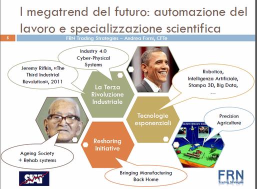 """SIAT ospita Andrea Forni con il webinar """"La Nuova Era della Robotica: come e perché investire n"""
