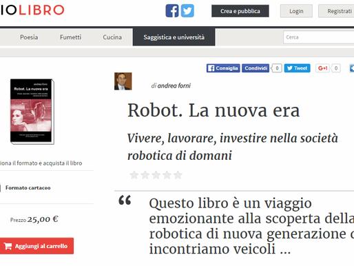 Disponibile l'edizione a stampa di Robot. La Nuova Era