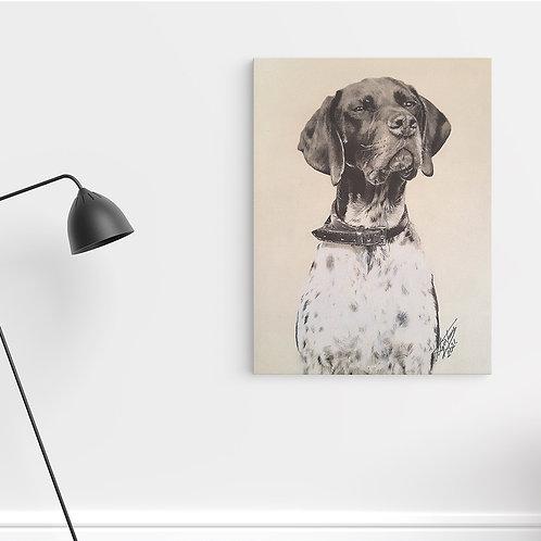 """Tablou Canvas """"Dog1"""" 40x50cm"""