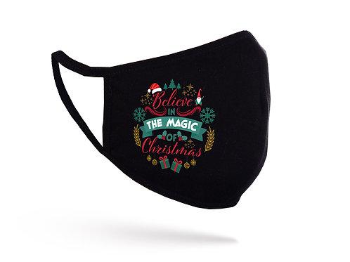 Mască Magic of Christmas neagră