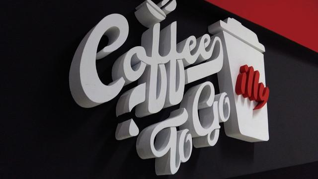 Litere volumetrice Coffe to go