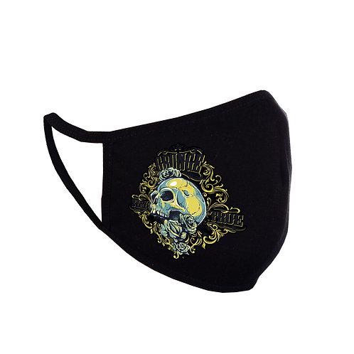 Mască Grunge Skull for Him neagră