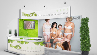 Stand expozitie HappySkin