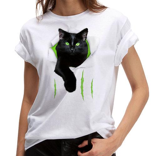 """Tricou """"Cat scratching"""""""