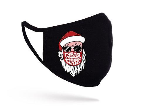 Mască Santa in Mask neagră
