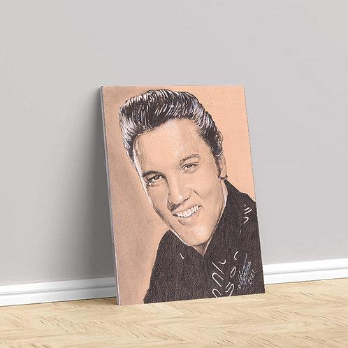 """Tablou Canvas """"Elvis Presley"""" 40x50cm"""