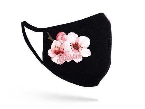 Acoperitoare facială Blossom neagră
