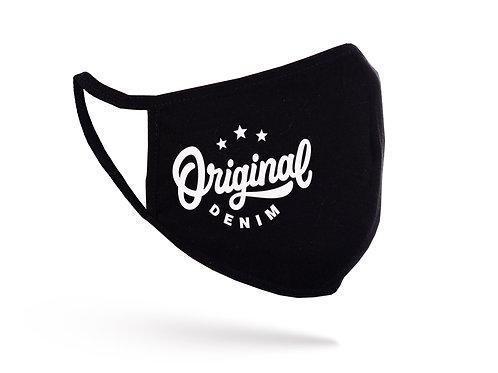 Mască Original Denim neagră